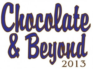 Chocolate Logo - blue