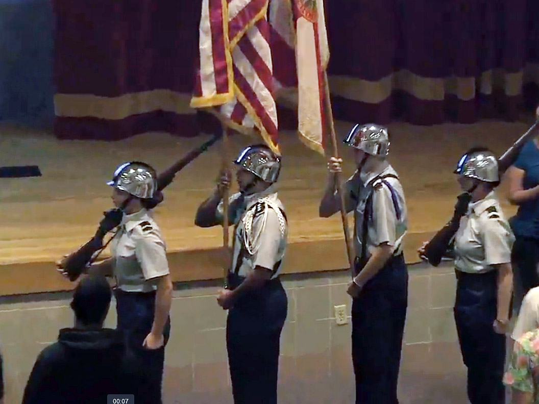 Veterans Day Celebration at St. Augustine High School